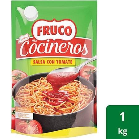 Fruco® para Cocineros Salsa con Tomate Doy Pack - Gran sabor y color natural. ¡Ordena online tu Fruco® para Cocineros Salsa con Tomate Doy Pack!