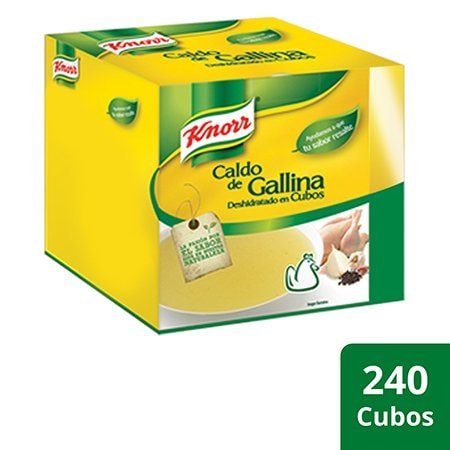 Knorr® Caldo de Gallina 240 Cubos -