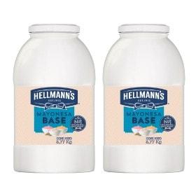 Hellmann's® Mayonesa Base 3.770 kg - Descubre Hellmann's® Mayonesa Base, es una salsa equilibrada en sabor y consistencia, por lo que ofrece un gran rendimiento.